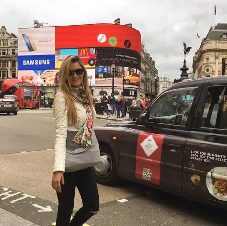 Cosas que ver en Londres - Ciudad de Londres Picadilly pantallas