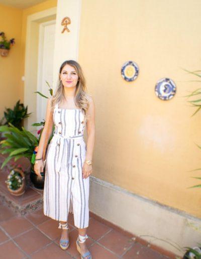 Moda verano - Vestido a rayas