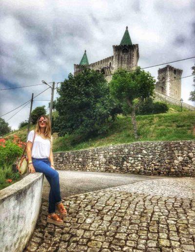 Outfits de moda - look clásico y castillo