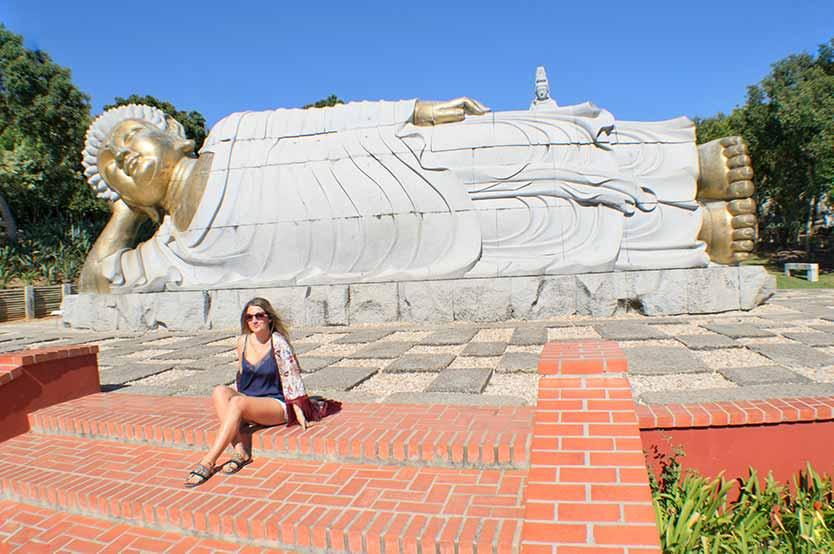 jardín oriental bacalhôa buddha eden - Estatua gigante de Buda
