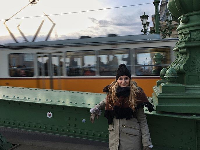 Budapest en 3 días - Puente de las Cadenas en Budapest y tranvia
