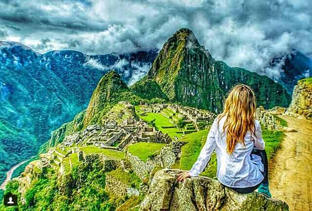 vuelos online - Machu Picchu